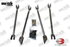 Universal Weld On Triangulated 4 Link Kit Heavy Duty 15 Dom Grade 8 Hardware