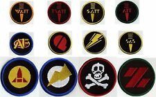 "3"" Fully Embroidered GI Joe Action Force Patch Set   [12 patches]"