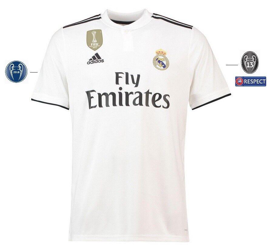 Trikot Adidas Real Real Real Madrid 2018-2019 Home UCL  Champions League ca62d1