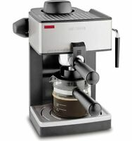 Mr Coffee Steam Espresso Machine With Frothing Cappuccino Latte Nozzle Cafe