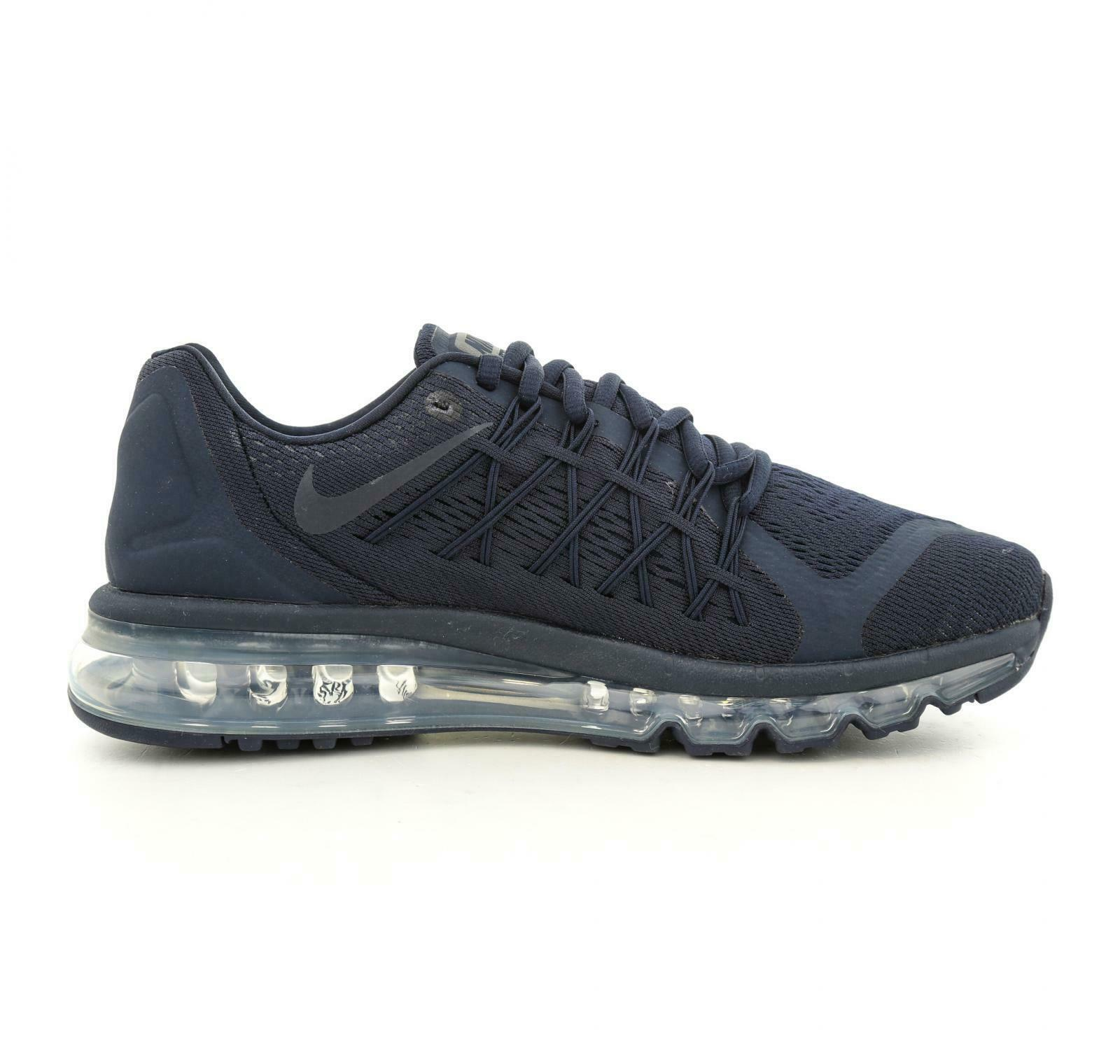 Mens NIKE AIR MAX 2015 Obsidian Trainers BQ7548 400
