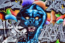 3401V VLIES Fototapete-GRAFFITI- -Street Art Wall Design Wand-Kunst Malerei Deko
