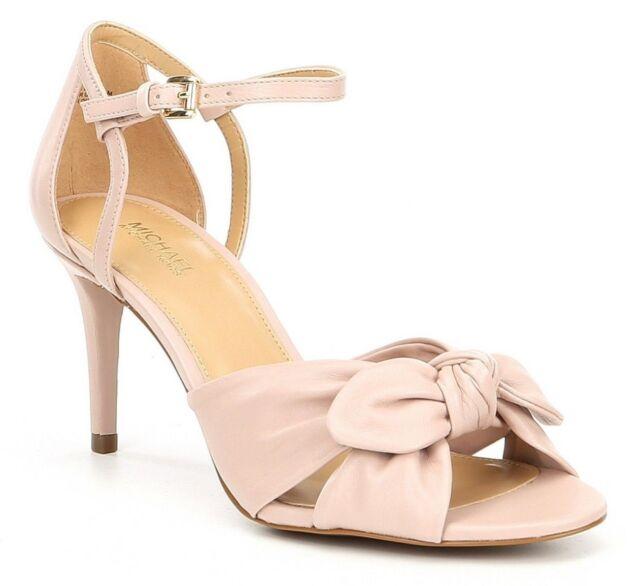 f4b60a4c66 MICHAEL Michael Kors Pippa Open Toe Dress Sandals, Multi Sizes Leather Soft  Pink