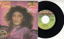 CAROL JIANI disco 45 giri STAMPA ITALIANA Hit'n run lover 1982 MADE in ITALY