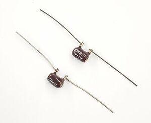 Lot of 2 Ohmite 43F33R 33 Ohm 3 Watt 1/% Wirewound Power Resistors 3W
