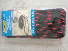 """DOUBLE BRAID DOCK LINE  3//8/"""" X 15FT SEACHOICE 42441 GREEN WITH BLACK TRACER 4PAC"""