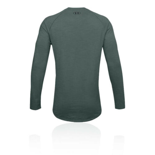 Under Armour Mens Charged Cotton Top Grey Sports Running Gym Breathable