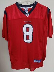 detailed pictures 360db 217eb Vintage Reebok NFL Houston Texans David Carr # 8 Football ...