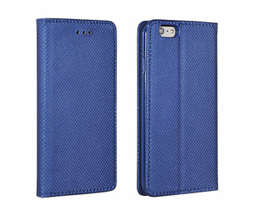 Apple iPhone 11 pro flip bolso funda Book Case Smart imán móvil azul 5.8