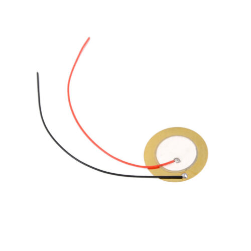 10x 27mm Piezo Elements Sounder Sensor Trigger Drum Disc wire copper 2018 BDA