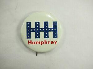 Hhh-Humphrey-Politico-Campaign-Pin-Back-Pin