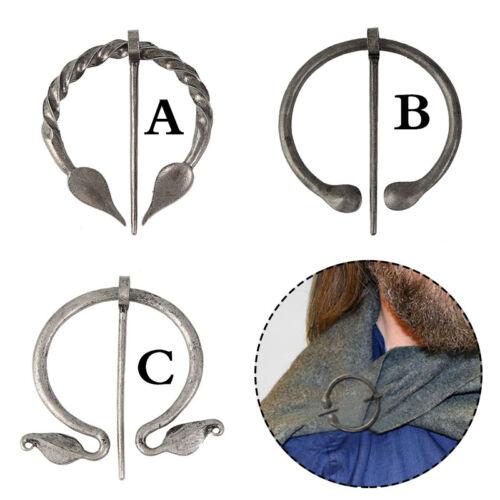 Vintage Viking Brooch Pin Shawl Cardigan Coat Cloak Pin Clasp Badge Jewelry