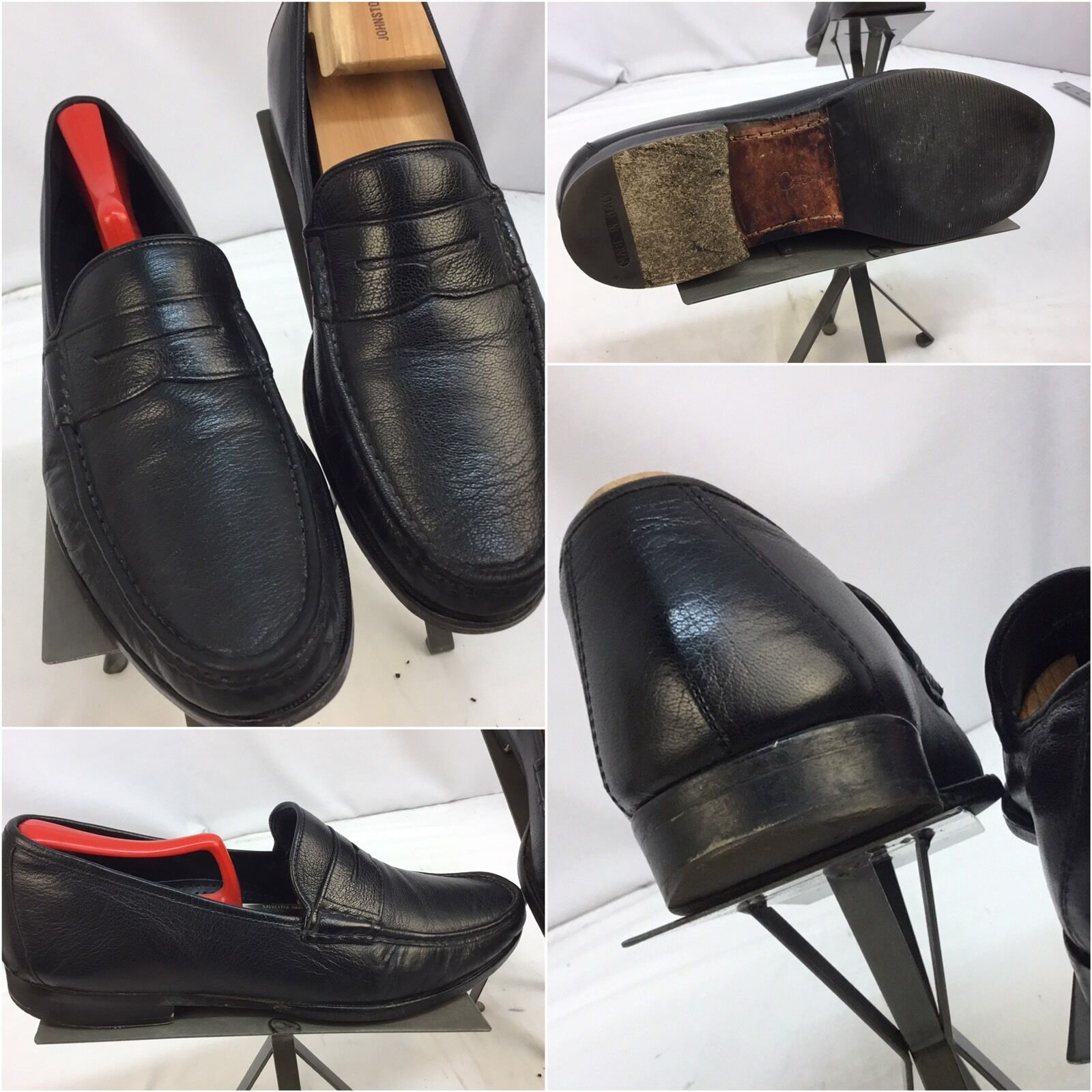 Cole Haan Made Loafers Shoes Sz 10 Black Slip On Made Haan India YGI H7 83291d