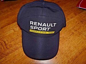 MENS-RENAULT-SPORT-BASEBALL-CAP-FORMULA-ONE-OFFICIAL-REPLICA-NEW
