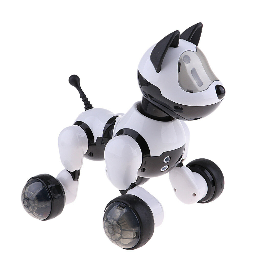 Voice Control Robotic Dog Interactive Intelligent Walking Dancing Puppy Toy