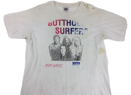 Vintage Butthole Surfers shirt 1991 Redd Cross shi