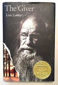 The Giver - Lois Lowry 1st Edition 4th Printing 1993 HCDJ Dystopian Novel Sci-Fi