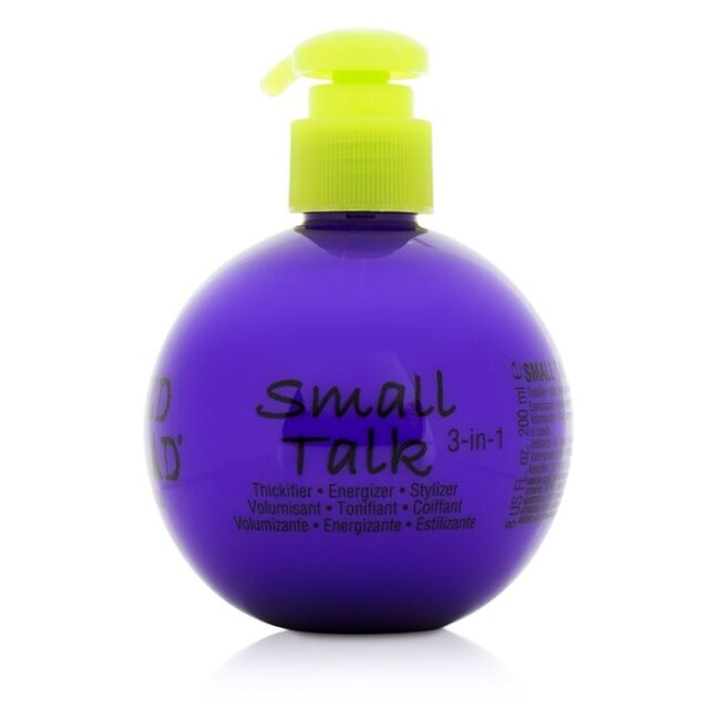 NEW Tigi Bed Head Small Talk - 3 in 1 Thickifier, Energizer & Stylizer 200ml