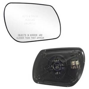 plate Right Driver side Wing door mirror glass for Mazda 3 03-09 heated