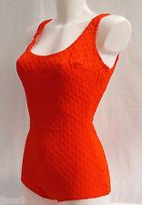 Superba anni'60 Vintage Classic Style Donna Costume Da Bagno 12 - 14 NUOVO