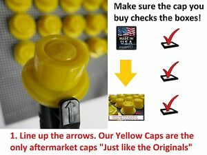 20 Blitz Gas Can Yellow Spout Caps fits on 900302 900092 900094 *HOUSE SPECIAL!!
