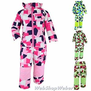 skianzug kinder m dchen jungen schneeanzug winteranzug skijacke skihose 98 164 ebay. Black Bedroom Furniture Sets. Home Design Ideas