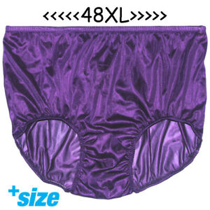 6e3975f252 Image is loading Fair-3XL-Full-Briefs-Sheer-Nylon-Knickers-Panties-