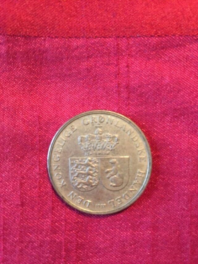 Grønland, mønter, 1 krone