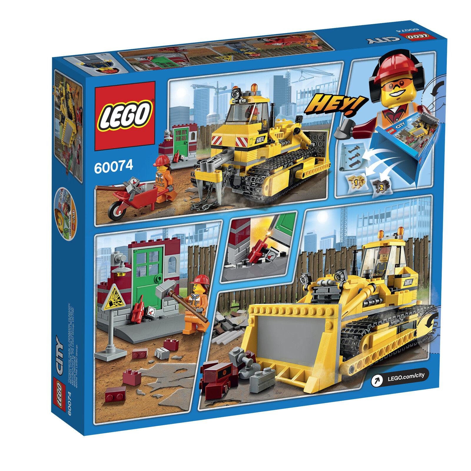 LEGO ® City 60074 Bulldozer Nouveau Nouveau Nouveau neuf dans sa boîte NEW En parfait état, dans sa boîte scellée Boîte d'origine jamais ouverte 66521 60073 60075 ea8c4f