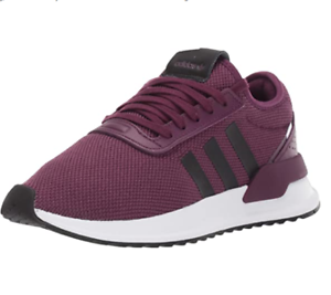 Adidas-Originals-Women-039-s-U-Path-X-W-Sneakers-Purple-Beauty-Black-White