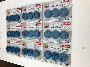 Sehr 72 WC Tabs Klosteine für alle Spülkästen 0,40€/St. Blauspüler WC KO67