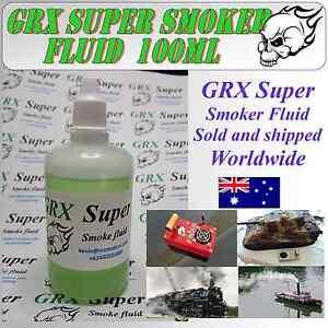 GRX-Super-Smoker-Fluid-100-ml-Model-Boat-Tank-Trains-Trucks