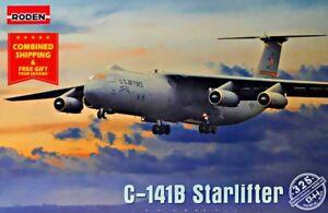 Roden-325-1-144-Lockheed-C-141B-Starlifter-American-military-transport