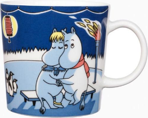 Talvinuotio 2008 *NEW Arabia Moomin Mug Winter bonfire