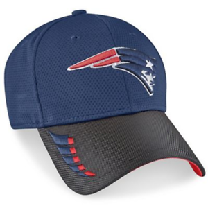 00ef6eae8 NEW ENGLAND PATRIOTS NEW ERA 9 FORTY ADJUSTABLE NAVY BLACK AND RED ...