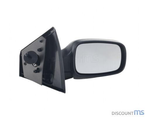 Noir miroir extérieur droit manuel convexe pour 7701061191