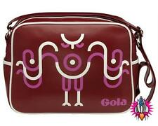 GOLA WEARABLE ART OWL RETRO RED SHOULDER SCHOOL GYM BAG NEW WITH TAGS ON SALE