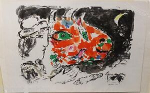 MARC-CHAGALL-AFTER-THE-WINTER-APRES-L-039-HIVER-ORIGINAL-LITHOGRAPH-MOURLOT-651
