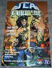 JLA Witchblade DC Comics poster:Wonder Woman/Superman/Batman/Green Lantern/Flash