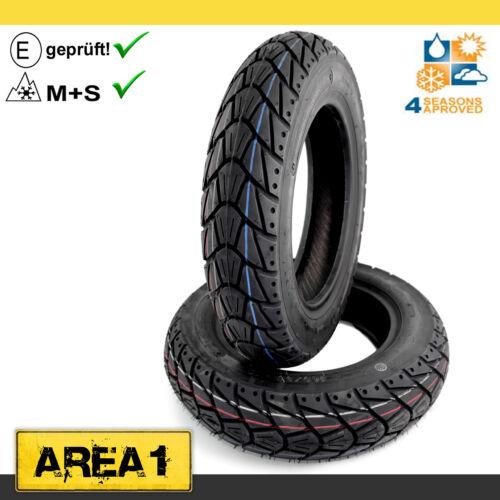 3.50-10 V-Clic Jinan Qingqi Allwetter Reifen Set Kenda K415 Qingqi