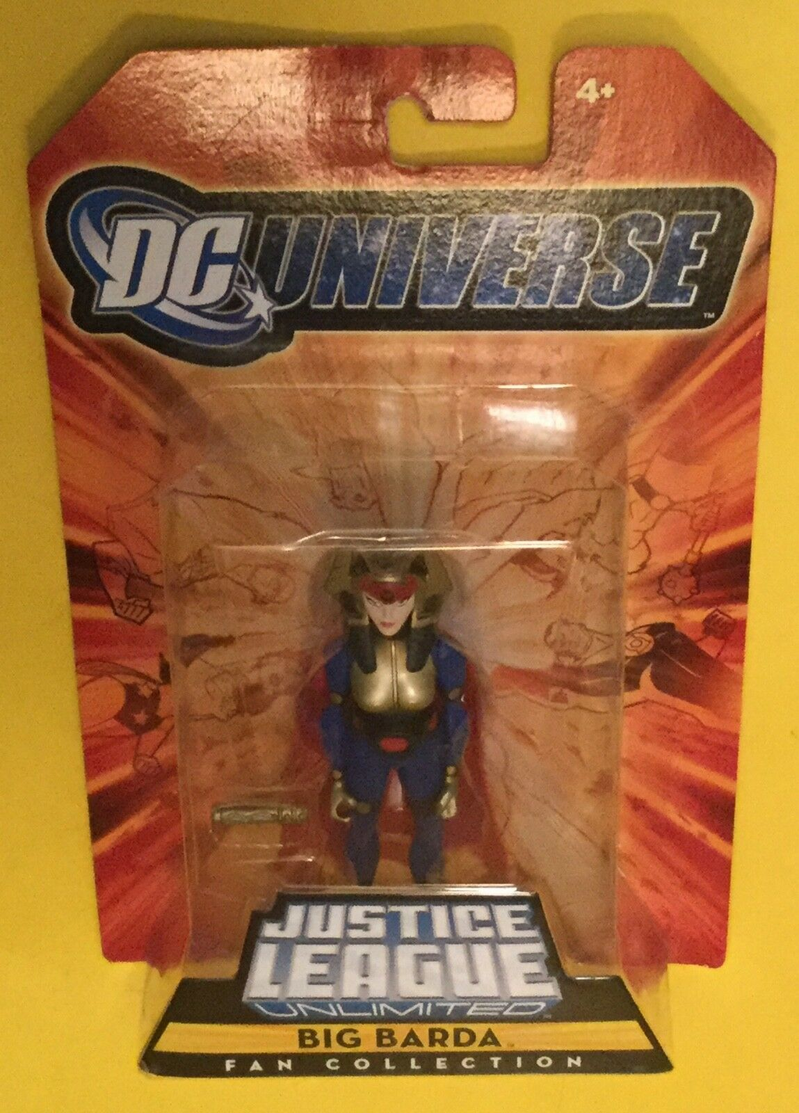 Big Barda Justice League Unlimited 4  Mattel DC Universe NEW GODS JLU MOC Kirby