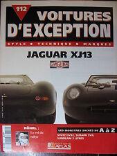 FASCICULE 112 VOITURE EXCEPTION JAGUAR XJ13 ROHRL STUZ DV32 SUBARU SVX SUNBEAM
