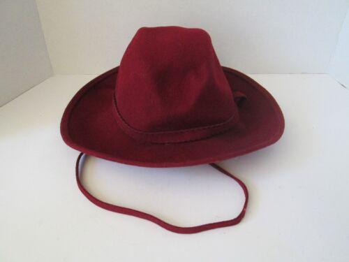 Vintage Red Burgundy 100% Wool Women's Geo W Bollm