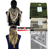 Tactical Military Arab Shemagh Kafiya Scarf Mask Shawl Kafiya Wrap Men Women