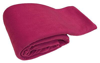 Chaud de luxe rose doux grand 254cm x 265cm polaire canapé divan lit couverture jeter