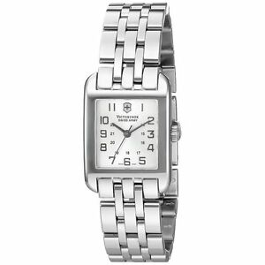 Victorinox 24022 Womens Silver Dial Quartz Watch With