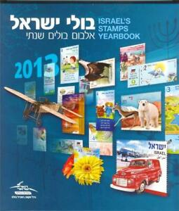 ISRAEL-2013-COMPLETE-YEAR-35-STAMPS-4-SOUVENIR-SHEETS-IN-IPS-ALBUM