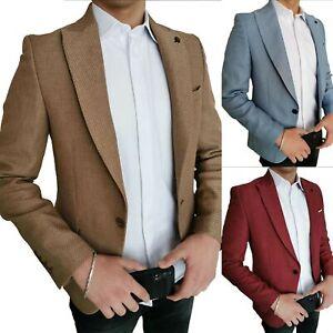 Sakko-Klassische-Business-Jackett-Blazer-Jacke-Anzug-Herren-MEGAMAN-MGM