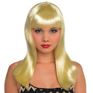 BLONDE-ELECTRA-WIG-for-ADULTS-Birthday-Halloween-Party-Supplies-Costume-Women