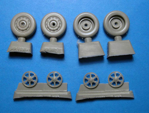 "1:48 Vector #VDS48-106  XF5U-1 /""Flying Flapjack/"" wheels Kitty Hawk kit"